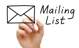 Keep In Touch With Customers By Building A Mail List